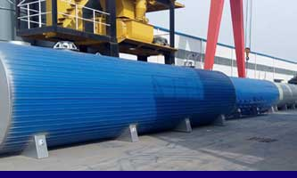 bitumen tank in asphalt batch mixing plant