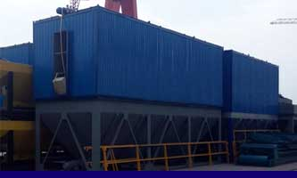 asphalt mixing plant manufacturer- baghouse filters