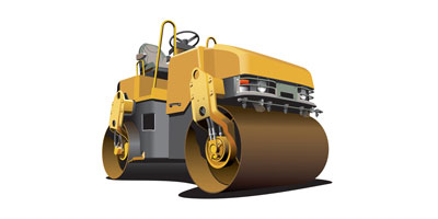 Road Machine, small road rollers, road equipments