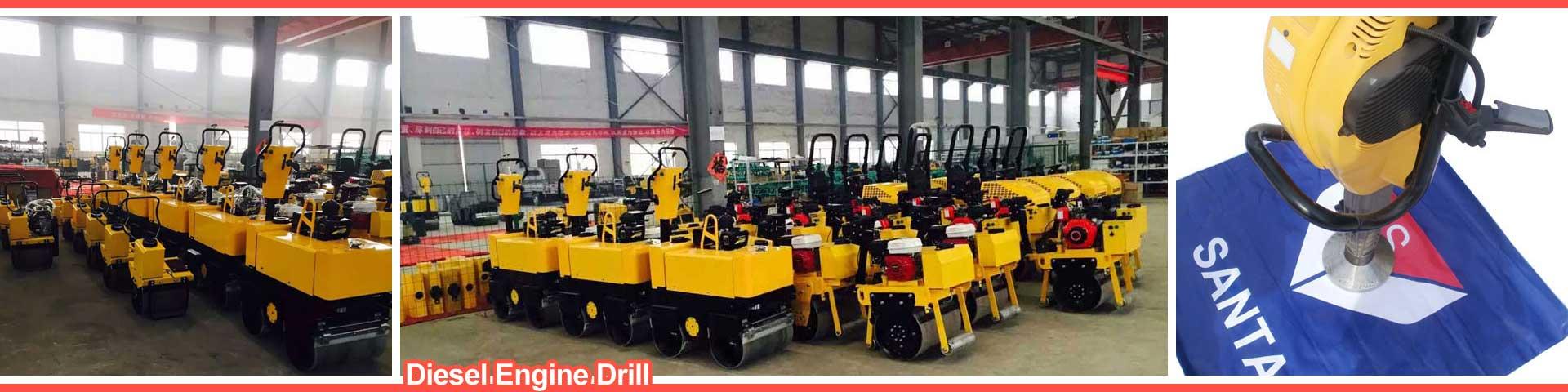 Diesel engine drill