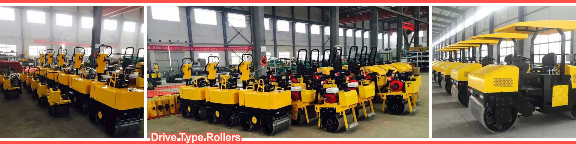 Small Double Drum Roller manufacturer