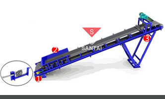 China asphalt batching plant conveyor