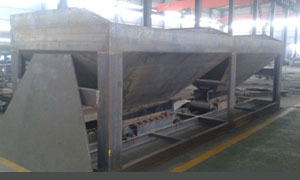 Hot mix asphalt plant cold feeder