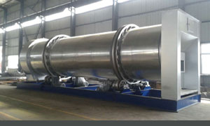 Hot mix asphalt plant dryer